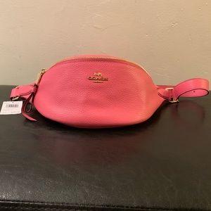 Coach Pink Belt Bag